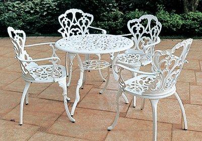 铝艺桌椅-003