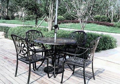 铝艺桌椅-004