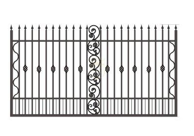 铁艺护栏-001