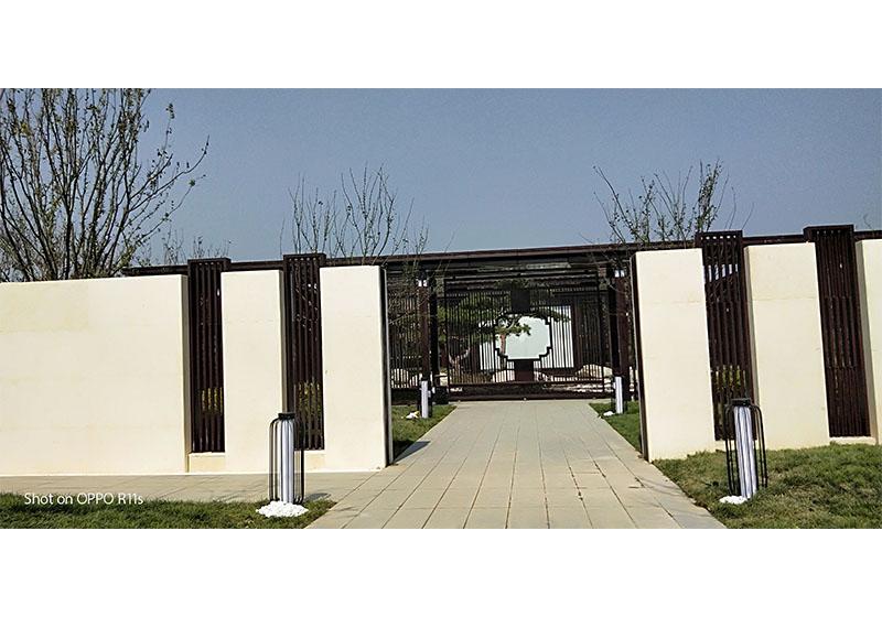新中式门楼安装案例-003