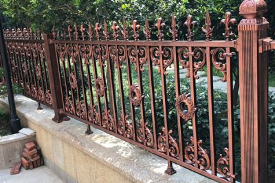济南铝艺护栏优势与制作方式