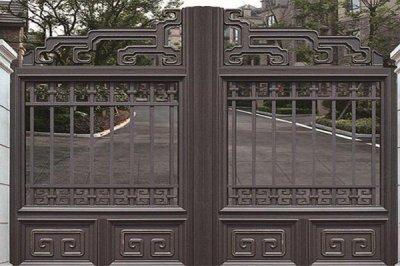 为什么越来越多的人选择铝艺大门作为庭院大门