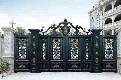济南别墅铝艺大门的风格特点是什么?